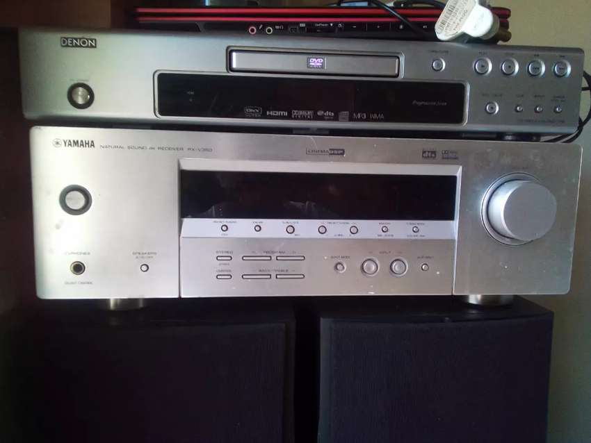 Denon DVD Player , Yamaha Amplifier , Wharfadale Toll boy speakers 0