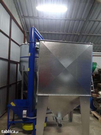 Zbiornik silos pojemnik do paszy zboża pelletu 2000 litrów ocynk Dakowy Suche - image 5