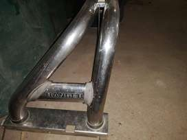Ford ranger 17 inch oem mags with chrome rol bar