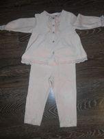 Нарядный костюмчик на девочку 80 см