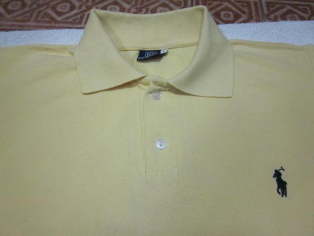 Ralph Lauren Polo T-Shirt męski roz. S kolor żółty Warszawa - image 6