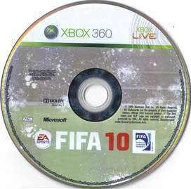 FIFA 10 xbox 360 game for sale