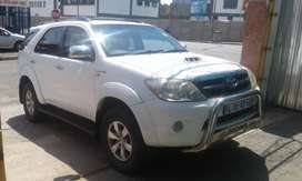 2007 Toyota Fortuner 3.0 D4D for sale
