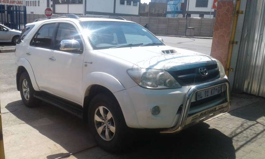 2007 Toyota Fortuner 3.0 D4D for sale 0