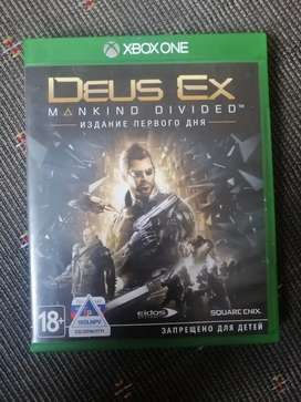 Dues Ex: Mankind Divide on Xbox One