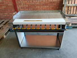 GAS GRILLER & FLAT TOPS FLOOR OR TABLE MODEL