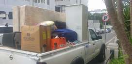 BAKKIE WITH TRAILER AND DRIVER FOR HIRE