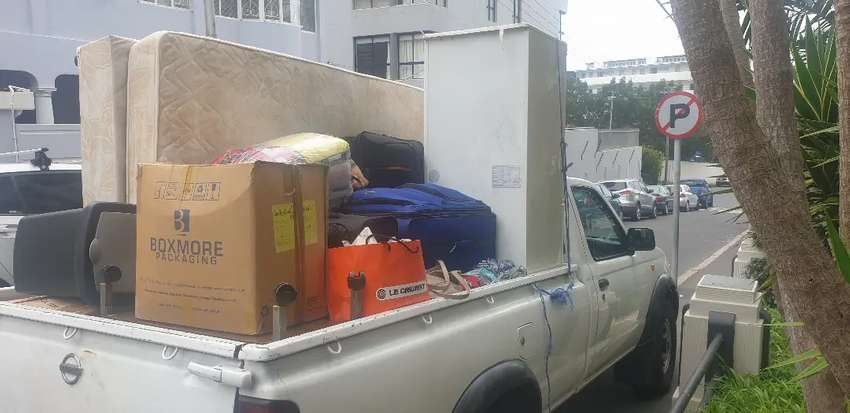 BAKKIE WITH TRAILER AND DRIVER FOR HIRE 0