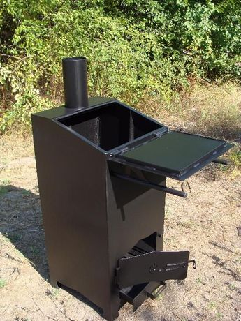 Дровяная печь для сжигания мусора. (печка для мусора). Ваш помощник! Днепр - изображение 1