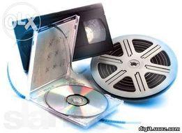 Оцифровка видео, аудио кассет