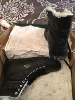 Ботинки (кроссовки) Lacoste, размер 39. Кожа, оригинал