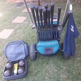 Gholf Set plus Cart For Sale