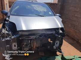 This is an accident damaged car