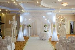 аренда палатки на церемонию,арки,подставки под цветы,задник.НА СВАДЬБУ