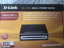 Роутер (маршрутизатор, ADSL -2 модем) D-Link DSL-2500U
