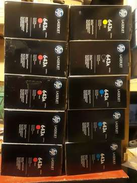 Genuine HP 643A cartridges(Price Negotiable)