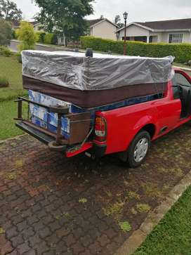1/2 Ton bakkie with driver for hire