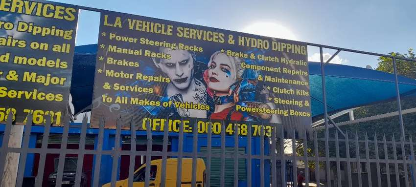 L.A vehicle service and hydro dipping