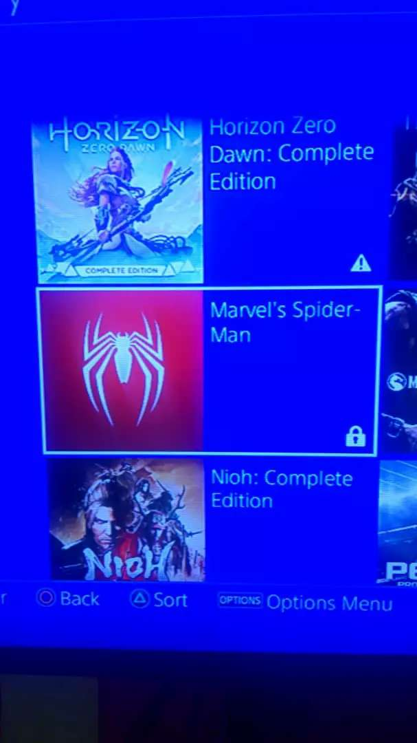 Game installation for PS4 0