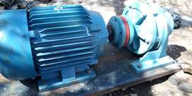 7.5kw electric motor & gearbox combination