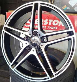 18 inch C63 Mercedes Mags For Sale.New.