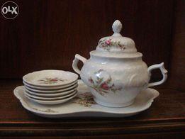 Комплект чайный фарфоровый Rosenthal/ Розенталь Сан-Суси. Германия.
