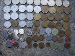 Pieniadze monety różne