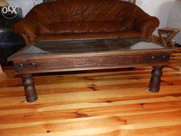 Ława drewniana palisander meble indyjskie