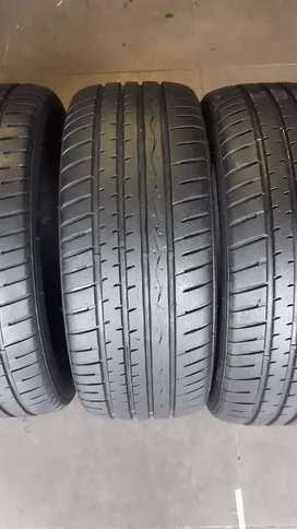 195/50R15 tyres 90% new