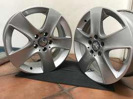 17 inch Mercedes Benz CLA mags