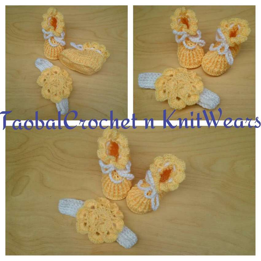 Crochet booties and shoes 0