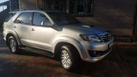 IMMACULATE Toyota Fortuner 2012