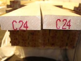 Kantówka 45x145mm, heblowana i suszona. Śląsk.