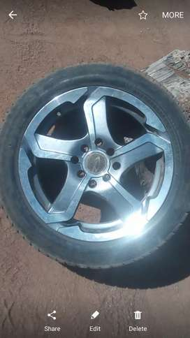 4mag rims nd tyres for sale