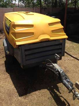 Compressor for hire