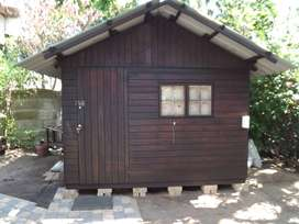Used Wooden Wendy House in excellent condition