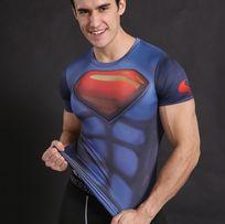 Koszulka Termoaktywna Rashguard DC SUPERMAN SIŁOWNIA roz. L