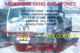 Mereridge sand and stone and Rubble removals