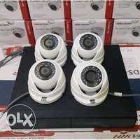 4 cameras cctv complete package with installation 0