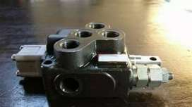 Hydraulic parts and installation