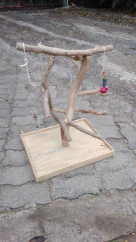 Parrot play stand for sale.