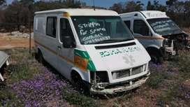 Vw LT35 ambulances stripping
