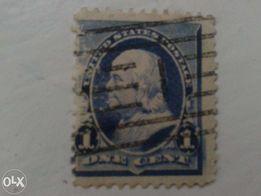cenne znaczki usa z bledem