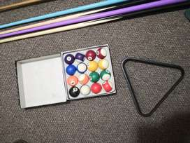 Pool Table with full accessories