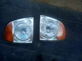 Hyundai H100 bakkie head lights for sale