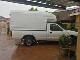 Nissan Np 300 with courier canopy is in a good condition