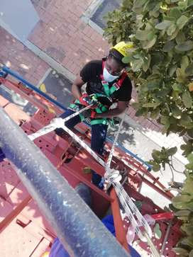 Fall arrest working at Heights Safety courses Cape town