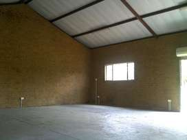 Workshop, Industrial Warehouse, Storage areas & Containers