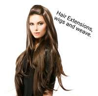 Image of Hair extensions, wigs and weave