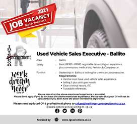 Used Vehicle Sales Executive - Ballito